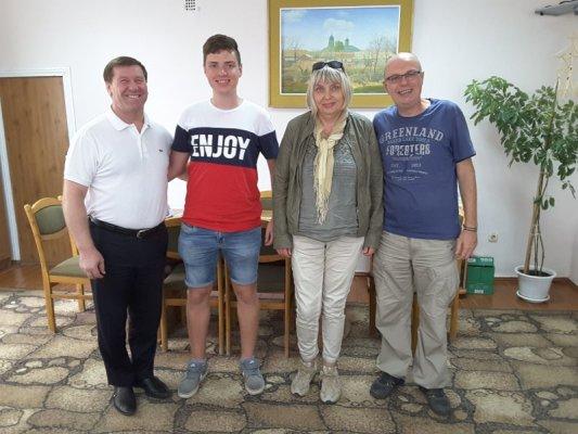 Il Presidente kolchoz Copceac Nicolai Semionovici Dragan