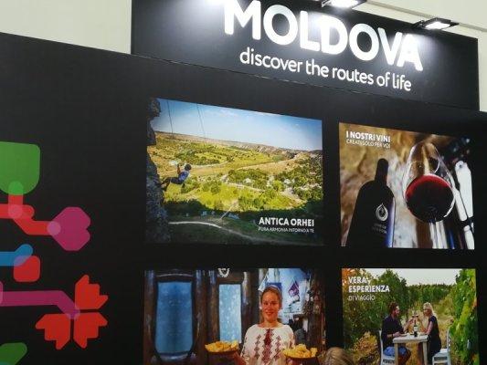 Stand Moldova TTG Rimini 2018