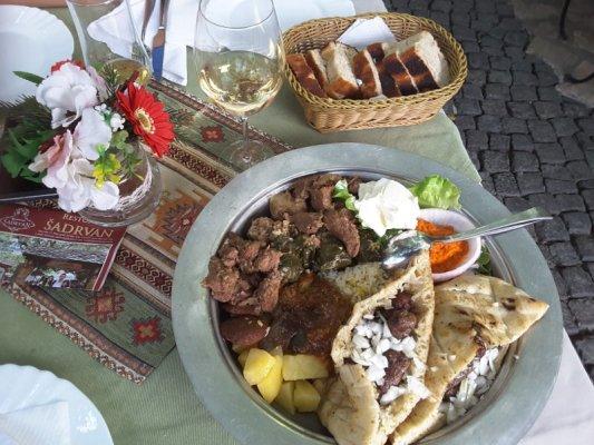 Cucina tipica balcanica