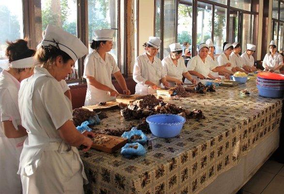 Cuoche National Food Tashkent Uzbekistan