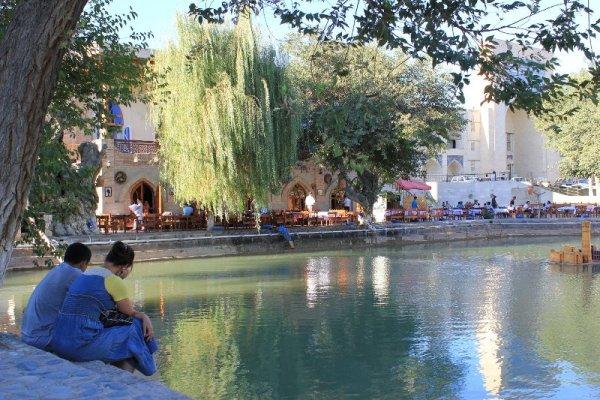 Lyabi Hauz Bukhara Uzbekistan