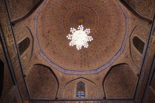 Cupola mausoleo Gur-e-Amir Samarcanda