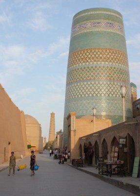 Minareto Kalta Minor Khiva Uzbekistan