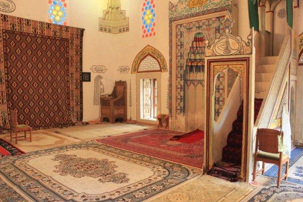 Interno Moschea Koski Mehmed Paša Mostar