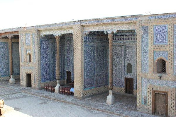 Cortile Palazzo Tosh Hovli Khiva Uzbekistan