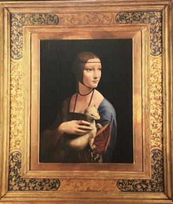 Dama con Ermellino Leonardo Da Vinci Cracovia