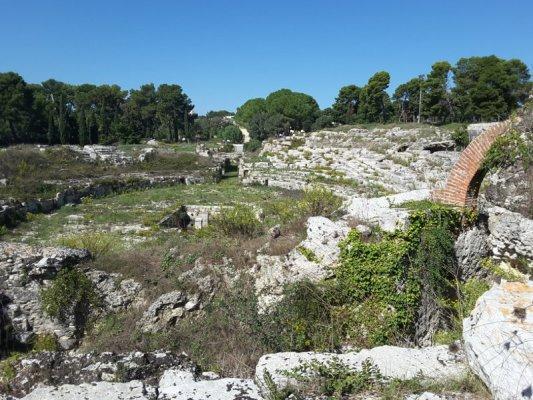 Parco archeologico Neàpolis Siracusa Anfiteatro Romano