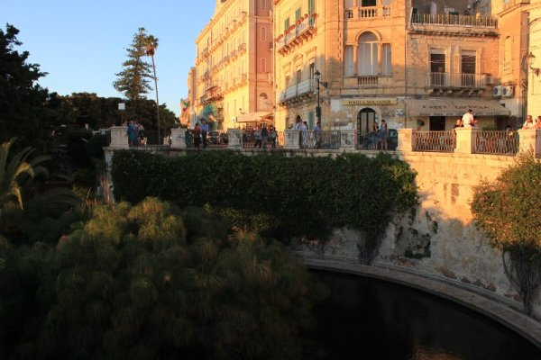 Fontana Aretusa a Siracusa