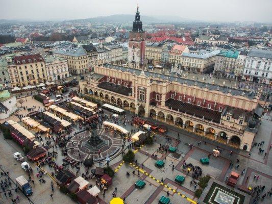 Piazza del Mercato Cracovia