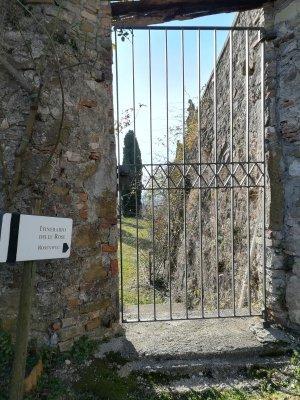 Sentiero delle rose Abbazia di Rosazzo