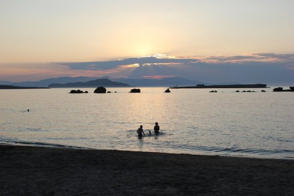Spiaggia Nea Hora Chania