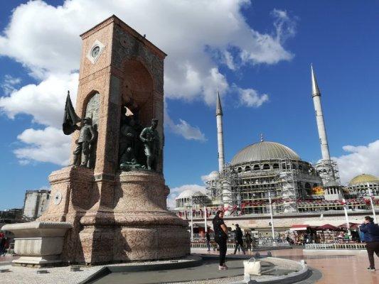 Piazza Taksim a Istanbul