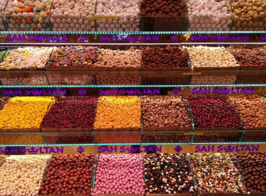 Dolci Turkish delights Istanbul
