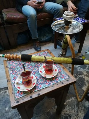 Sala da tè medresa Çorlulu Ali Paşa Istanbul