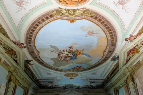 Affreschi Villa Dragoni Buttrio