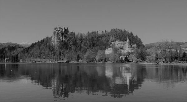 Panorama castello di Bled