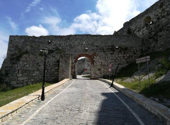 Ingresso cittadella fortificata di Kalaja Berat