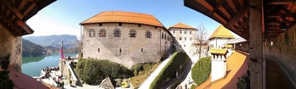 Panorama Castello Bled Slovenia