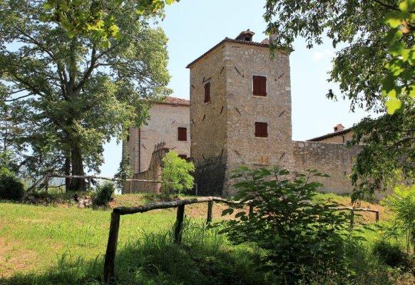 Il castello di Albana