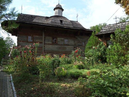 Antica chiesa in legno di Palanca Moldova