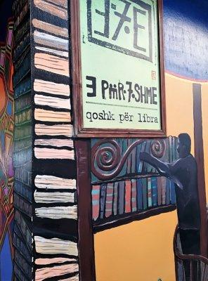 Ingresso bookshop caffè E Për7shme Tirana
