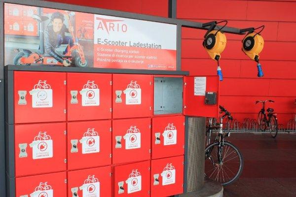 Ricarica scooter elettrici Atrio Villach Austria