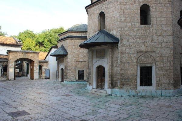 Cortile interno Moschea Gazi Husrevbey Sarajevo