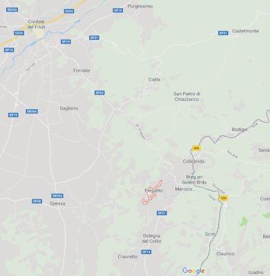 Mappa comune Prepotto
