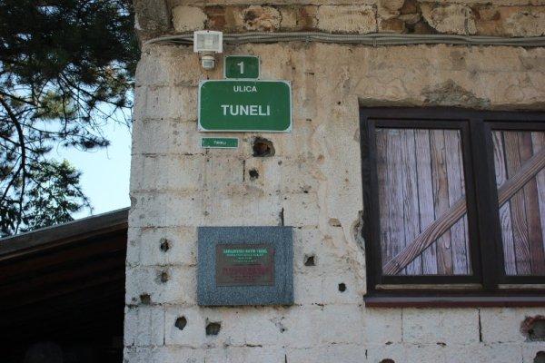 Ingresso del Museo del Tunnel Sarajevo