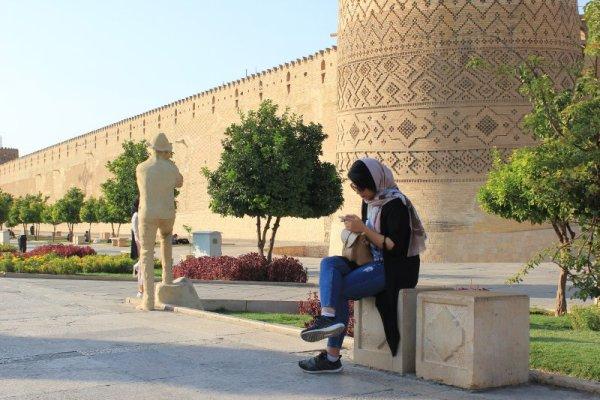 Fortezza Arg-e Karim Khan a Shiraz Iran