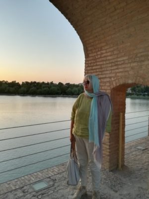 Tramonto a Esfahan Iran