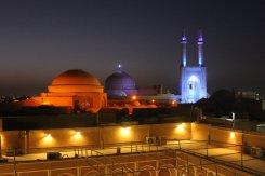 Tramonto a Yazd Iran