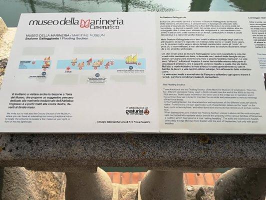 Informazioni Museo della Marineria Cesenatico