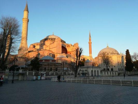 La Basilica di Santa Sofia Istanbul