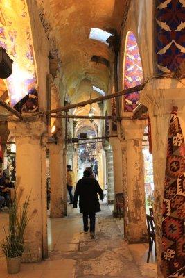 Vicolo interno del Gran Bazar a Istanbul