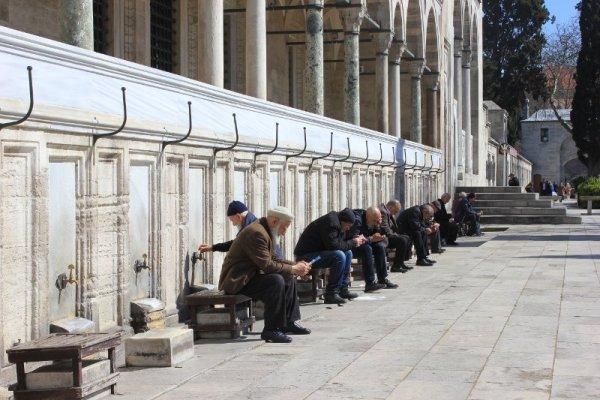 Fontane per le abluzioni Süleymaniye Camii Istanbul