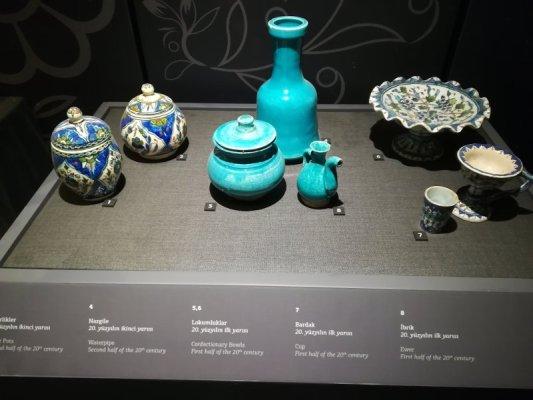 Oggetti esposti al Museo Pera Istanbul