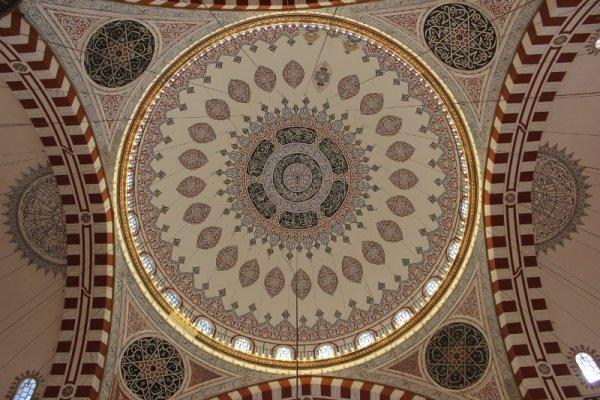 Cupola della moschea Şehzade Mehmet Istanbul