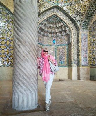 Interno della Masjed-e Vakil a Shiraz Iran