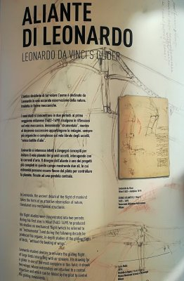 Informazioni aliante Leonardo da Vinci