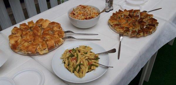 Buffet alla osteria La Ciacarade di Udine