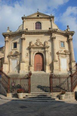 Ragusa Ibla Sicilia, la chiesa del Purgatorio