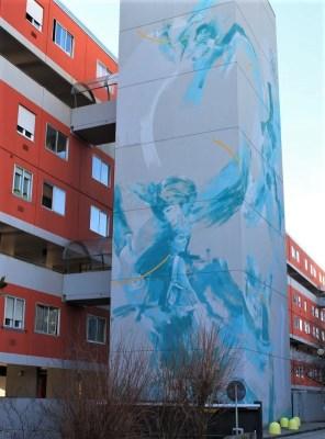 Street Art Udine quartiere Aurora