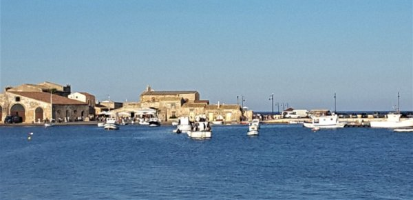 Panorama su Largo Balata Marzamemi Sicilia