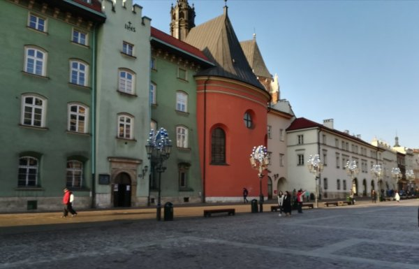 Piazza Mały Rynek Cracovia