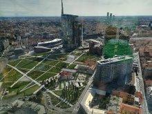 Panorama dell'area di Porta Nuova a Milano