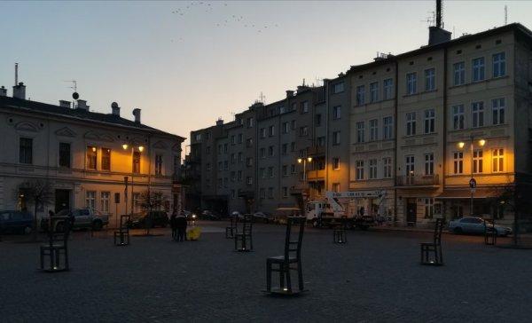 Piazza Bohaterów Getta a Cracovia