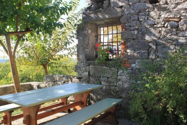 Angolo caratteristico nel centro storico di Štanjel