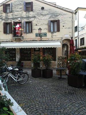 Angolo caratteristico del centro storico di Treviso