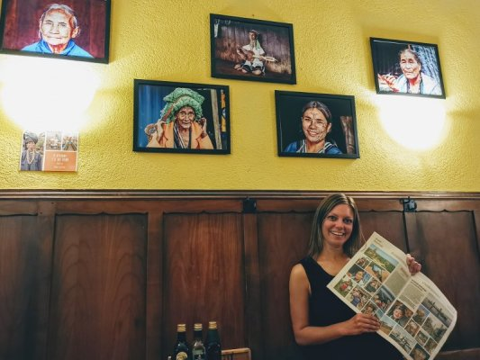 Mostra fotografica sul Myanmar di Miry Ferrarin alla osteria La Ciacarade di Udine